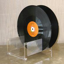 Долгоиграющая запись сушильная подставка прозрачная-акриловая запись сушильная Подставка-подходит для альбомов 10 или 12 дюймов