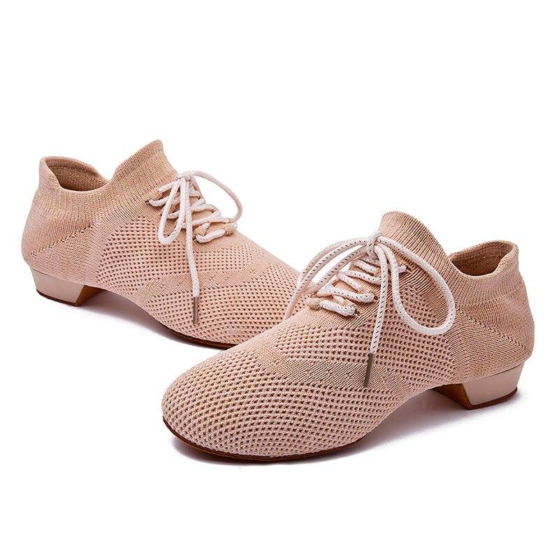 USHINE BD57 Black New Socks Dance Shoes Soft ChaCha Training Teachers Modern Dance Shoes Ballet Yoga Dance Shoes Woman