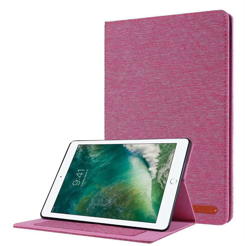 01 Rose Brown Cover For iPad 10 2 2019 Luxury Leather Case For iPad 10 2 7 7th Generation