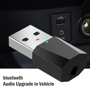 bluetooth usb adapter dongle 5.0 computer pc headphones for speaker car fone audio receiver transmiter tv adaptador 3.5mm mouse image