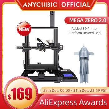 ANYCUBIC-Impresora 3D Mega Zero y Mega Zero 2,0, marco de Metal, 220x220...