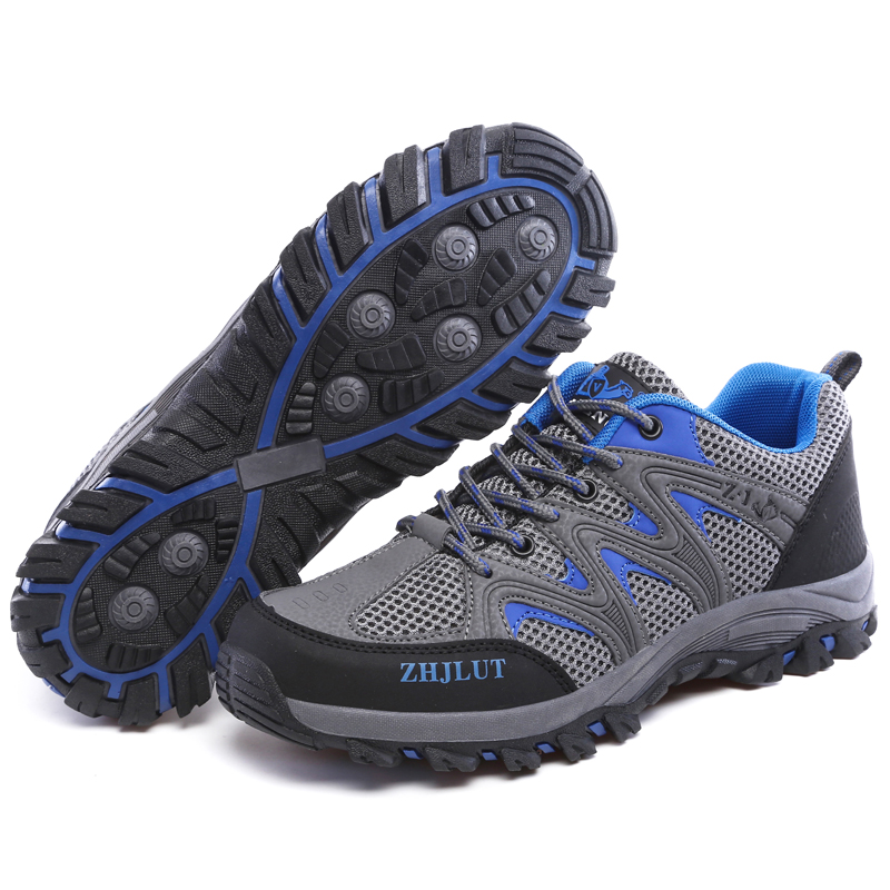 Image 2 - Men Mesh Casual Shoes Women Outdoor Sports Breathable Summer Wear Resisting Trekking Footwear Climbing light hiking Shoes ManMens Casual Shoes   -