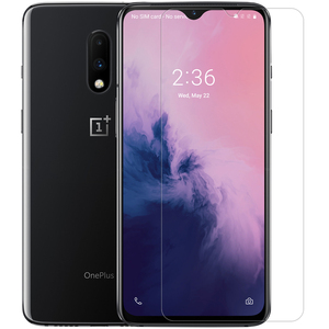 Image 3 - Oneplus 7T/7/6T/6/5T/5/3 Tempered Glass Nillkin 9H Hard Clear Safety Glass Screen Protector for Oneplus 7T 7 6T 6 5T 5 3 Film