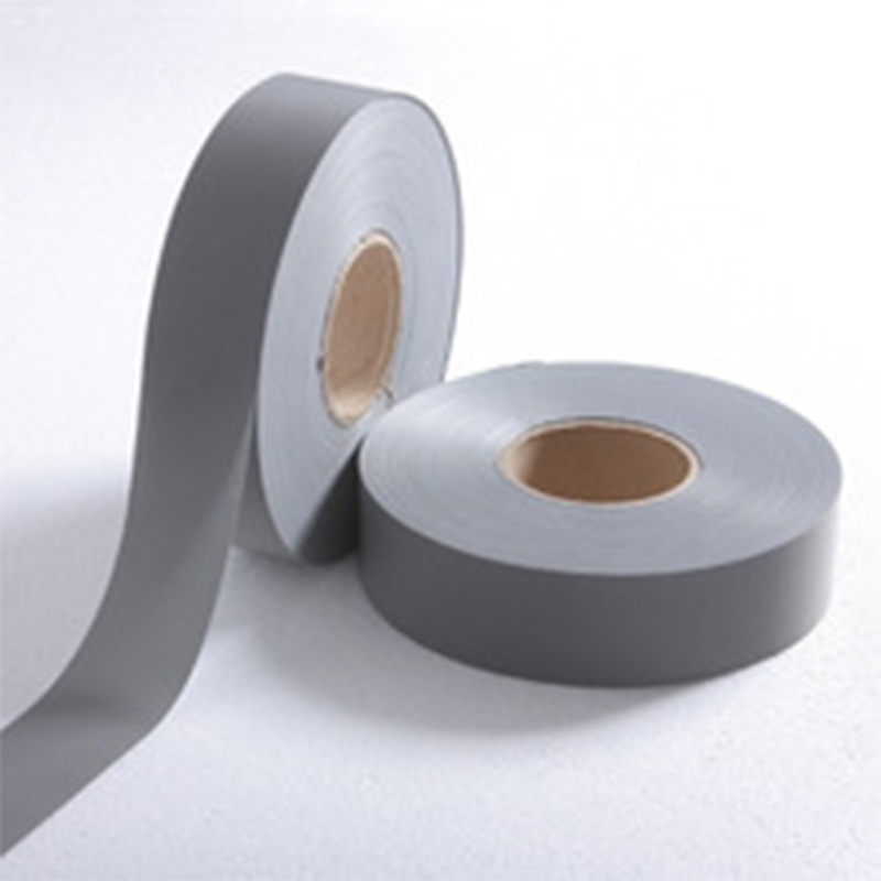 Normal Light Reflective Fabric Chemical Cloth Warning Safety Reflective Tape Sew On Safe Clothing