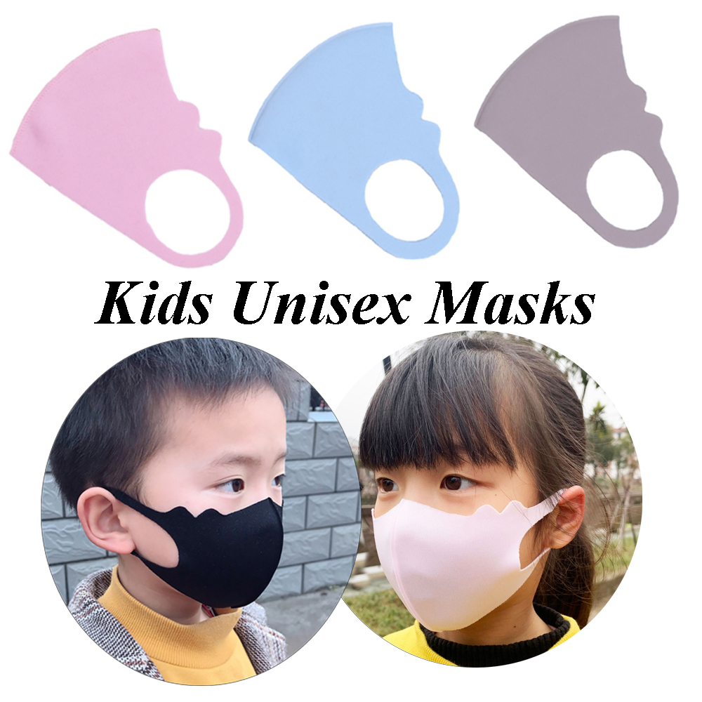 Reusable Kids Space Fiber Masks Mouth Mask 1PC Children's Breathable Masks Washable Dustproof Anti-fog Mask Mouth Cover
