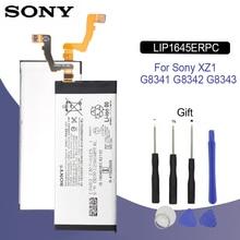SONY Original LIP1654ERPC Phone Battery 3200mAh For Sony Xperia XZ1 G8341 G8342 G8343 Dual F8342 SO-01K Replacement Batteria