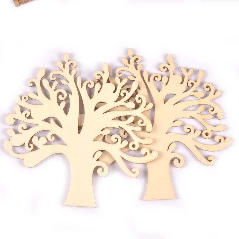 5 шт., деревянные подвески для украшения дома