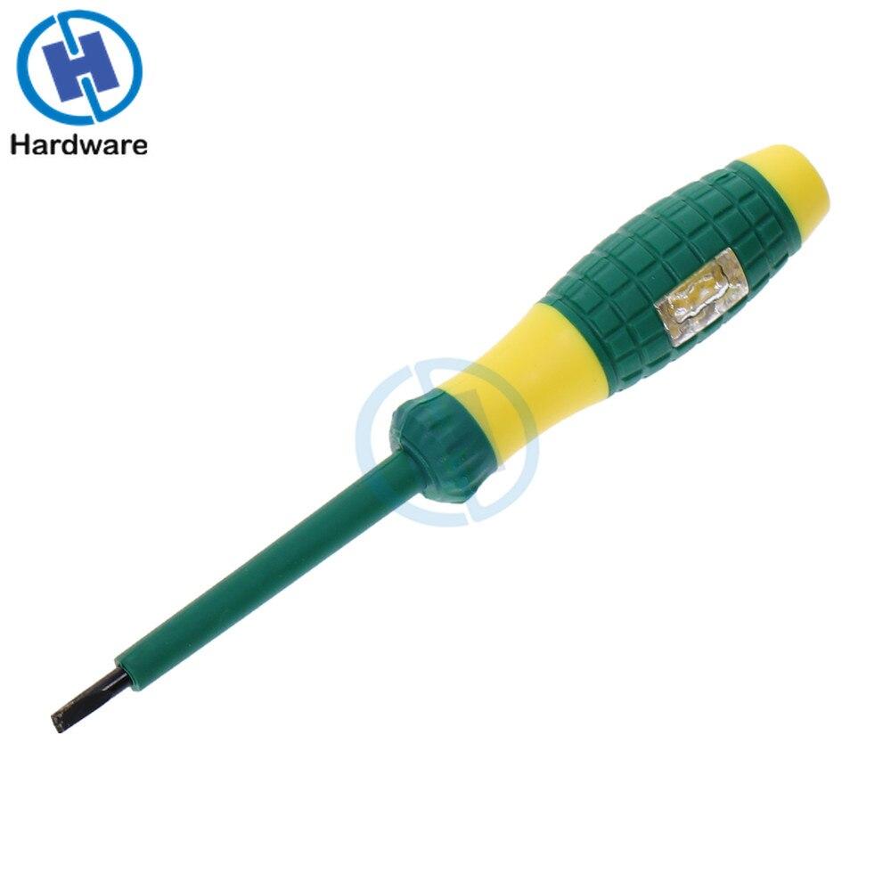 Точная электрическая ручка-тестер 220 В, прочная отвертка с испытанием напряжения, детектор мощности, зондовые инструменты для промышленных ...