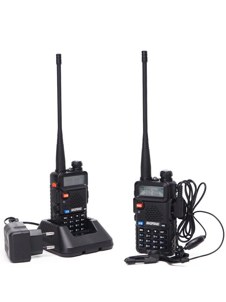 Walkie-Talkie Amateur Radio Cb-Radio Dual-Band Pofung UV-5R Portable BF-UV5R 2pcs Baofeng