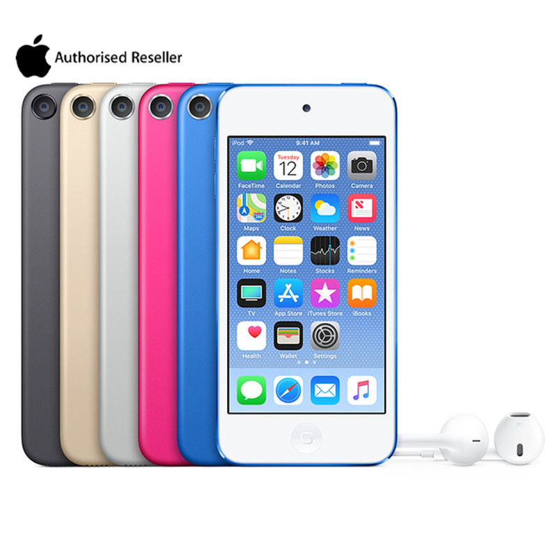 Authorization Apple Ipod Touch 6 MP3/4 4.0 Inches Touch Screen Built-in Speakers 16/32/64/128GB  Music Video Play With FM E-book