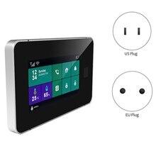 Security-Alarm-System Home Tuya Smart Wireless GSM Burglar-Alarm Temperature Wifi Fingerprint
