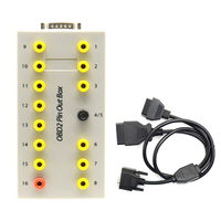Tester Protocol Detector Time Saving Diagnostic Manual OBD2 16Pin Connector Auto Breakout Box Repair Accessories Car Tools
