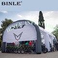 Высококачественная гигантская надувная квадратная палатка tublar надувная выставочная структура надувная палатка в форме арки для велосипед...