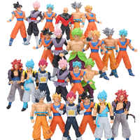 18cm Dragon Ball Super Ultra Instinct Goku Super Saiyan Rose Goku noir Jiren Broly Brolyi PVC figurine jouets