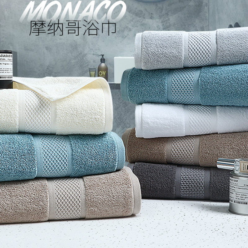 Hôtel de luxe serviette de bain coton adulte maison douce Absorption d'eau hommes femmes coréen coton grand épais serviettes de noël cadeau 6MM19