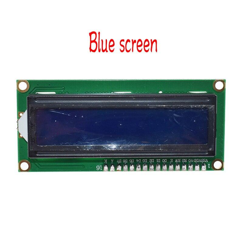 1PCS LCD module Blue screen IIC/I2C 1602 for arduino 1602 LCD UNO r3 mega2560 Green screen 3