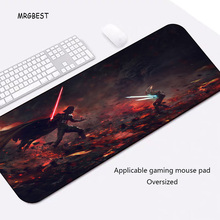 MRGBEST Hot Sale Mouse Pad Plus Size  Locking edge Cool Star Wars PC Computer Notebook Desk Mat for Gamer