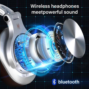Image 3 - Oneodio Fusion Wired + Wireless Bluetooth Headphones For Phone Mic Over Ear Studio DJ Headphone Professional Recording Headset