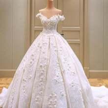 Свадебное платье новинка 2021 роскошное сексуальное бальное