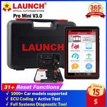 เปิดตัว X431 Pro Mini V3.0 Full ระบบ OBD 2เครื่องมือวินิจฉัยรถยนต์ OBDII OBD2บลูทูธ Wifi เครื่องสแกนเนอร์รหัสเดียวกันเช่น X431 V