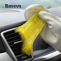 Limpiador de coche Baseus pegamento de goma salida de ventilación del salpicadero herramienta de limpieza teclado de suciedad de polvo limpieza aspiradora Gel suave