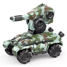 RCtown Xiangdijia игрушки 008D 2,4G 4WD электрический RC боевой танк дрейф транспортные средства трюк автомобиль РТР модель