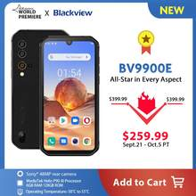Blackview a BV9900E Helio P90 Smartphone robusto 6GB + 128GB IP68 4380mAh impermeable 48MP Cámara NFC Android 10 teléfono móvil(China)