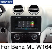 цена на For Mercedes Benz ML Class W164 2005~2012 NTG Android IPS car player original Style Auto radio gps navi Bluetooth WiFi Map