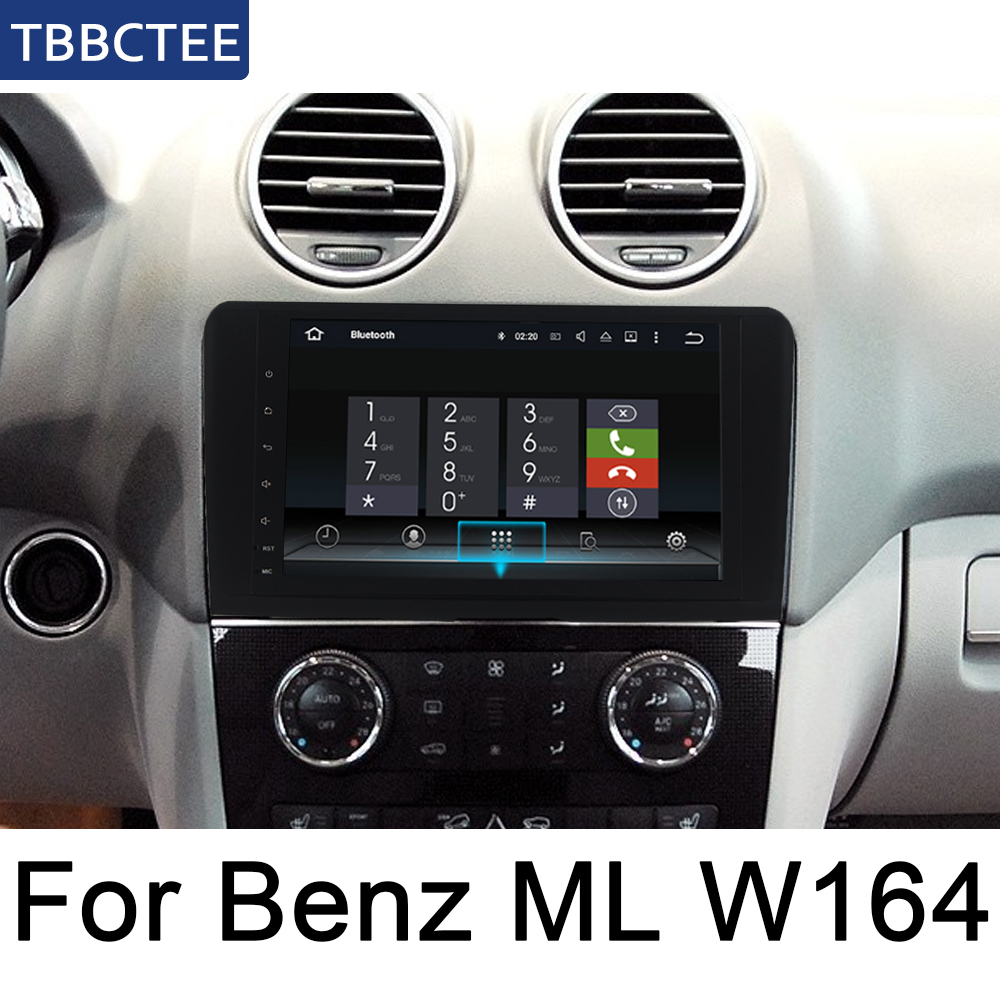 For <font><b>Mercedes</b></font> Benz <font><b>ML</b></font> Class W164 2005~2012 NTG Android IPS car player original Style Auto radio gps navi Bluetooth WiFi Map image