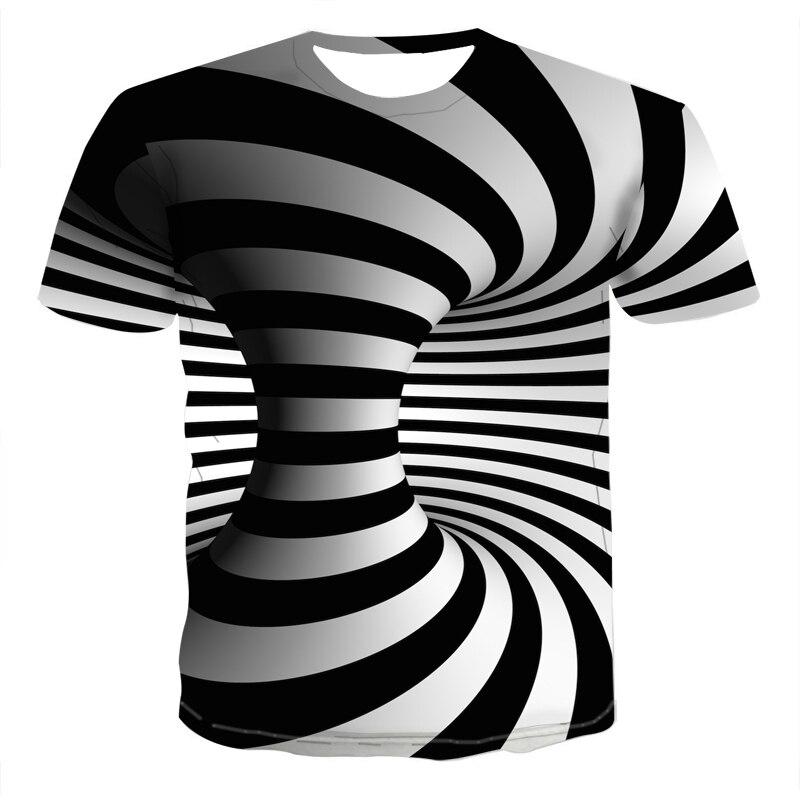 ¡Novedad de 2020! Camiseta hypnotic con estampado en 3d en blanco y negro, camiseta divertida unisex de manga corta de hip hop Lámpara de mesita de noche, luz LED para acuario, medusas hipínticas, escritorio relajante, mesa de fantasía con cambio de Color para niños, estilo de ambiente relajante