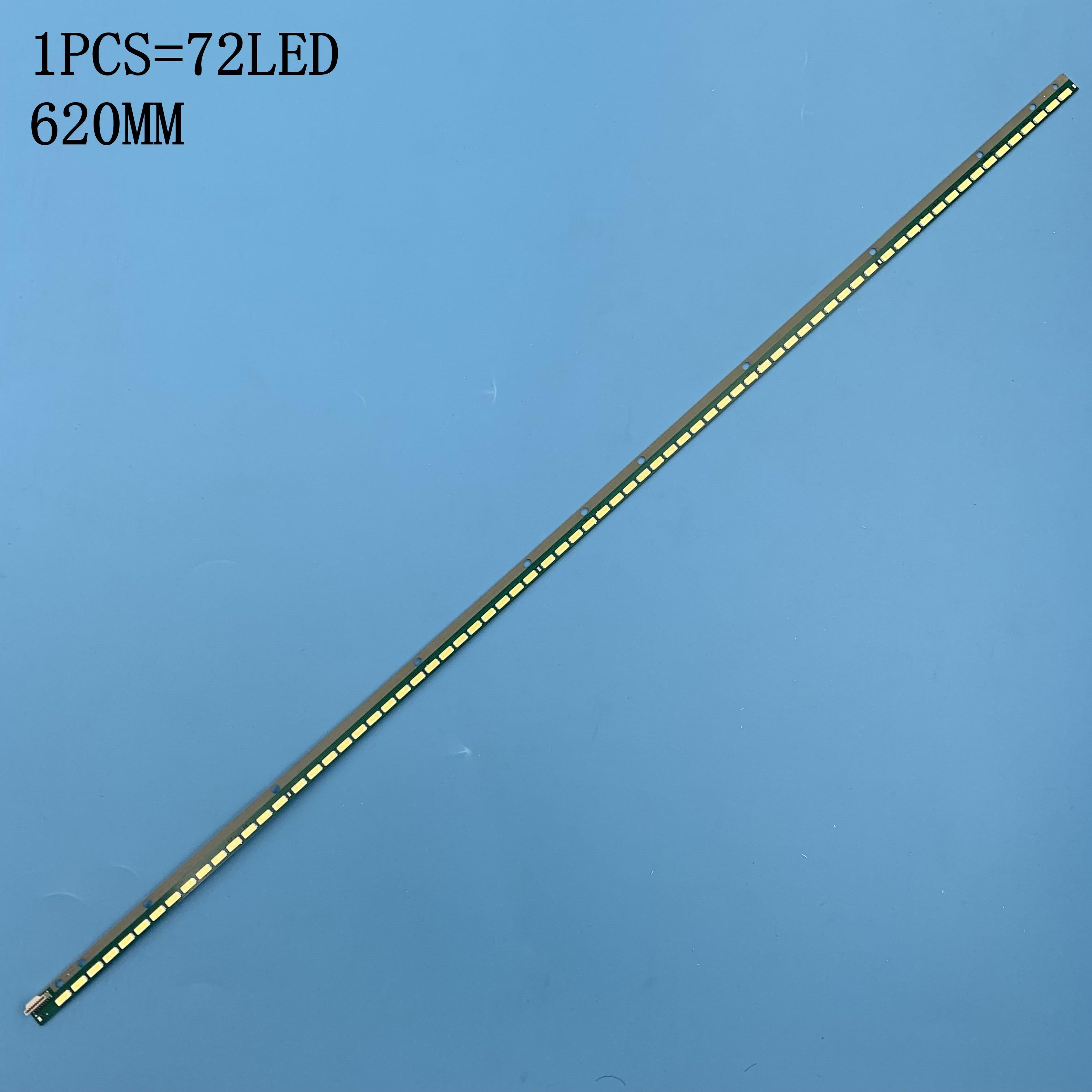 New 2 Pieces/lot LED Strip 6922L-0083A 6916L1291A 72 LEDs 620mm For KDL-50R550A KDL-50R556A LC500EUD(FF)(F3)