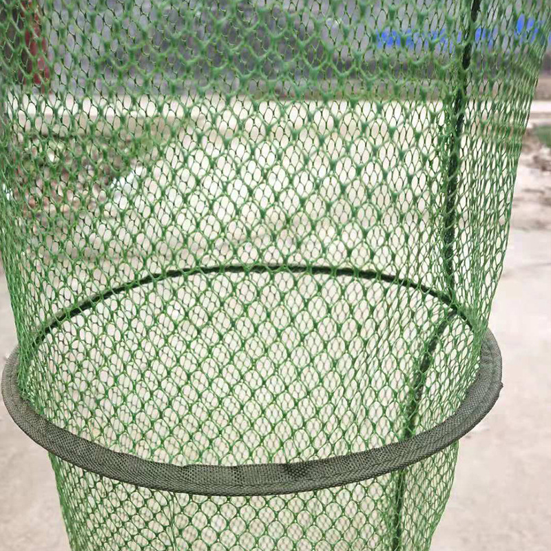 Customizable Fish Basket Stainless Steel Nylon Gelatinization Anti Hanging Quick-Dry String Bag Scale Fishers To Send Yu Hu Bao