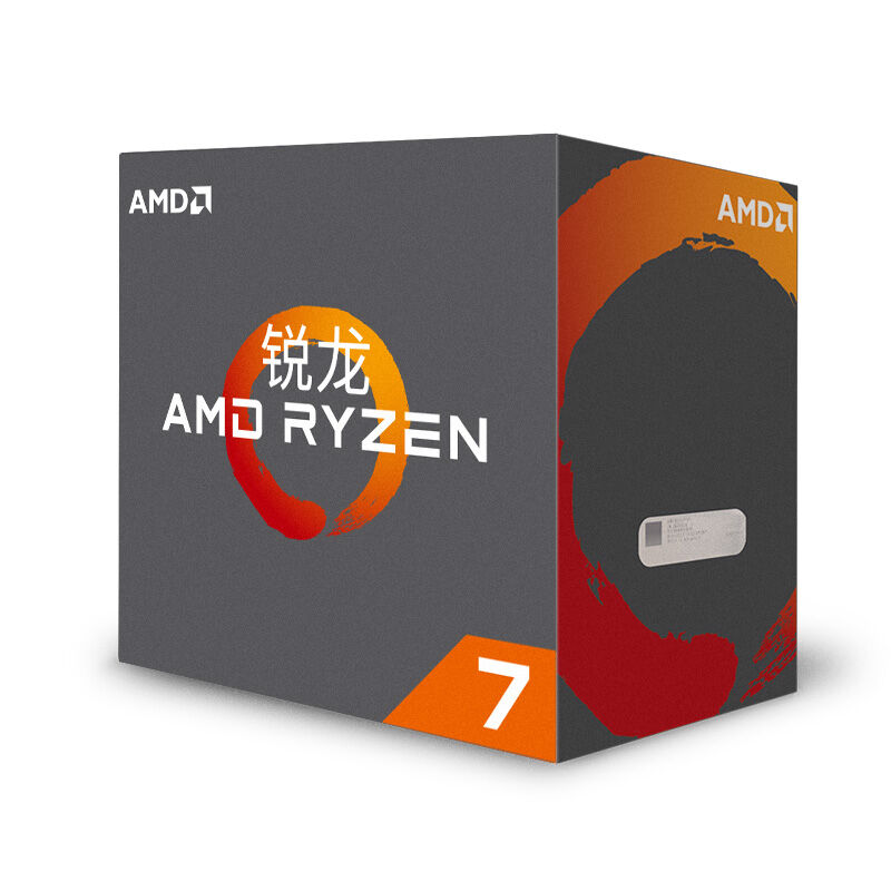 AMD Ryzen R7 1700X CPU Original Processor 8Core Octa Core 16Threads AM4 3.4GHz 95W 20MB Cache 14nm DDR4 Desktop New and with fan 1