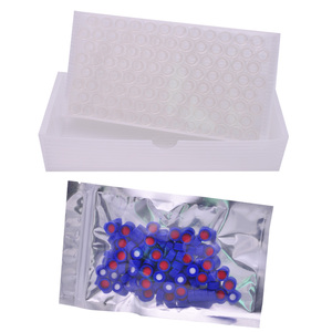 Image 5 - INTLLAB ChromatographyVial 2ml Hplc Vials and Blue Screw Cap with Hole 100pcs/Pack
