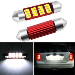 2x36 мм C5W C10W 4014 светодиодный CANBUS автомобиль гирлянда светильник номерного знака светильник лампа для BMW Mini R50 R52 R53 R55 R56 R57 R60 12V 6000K