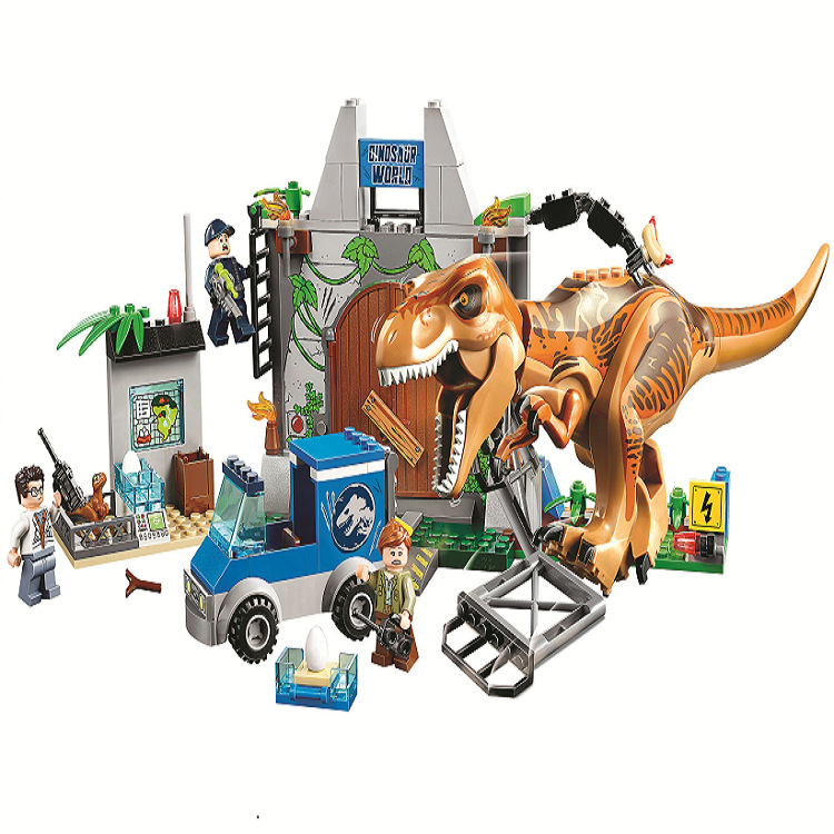 10920 Jurassic World Dinosaurs Tyrannosaurus Breakout 168pcs Blocks Toy Gifts Compatible With Lepining Jurassic Parked