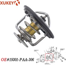 X AUTOHAUX Engine Coolant Thermostat 19301-PAA-306 for 1997-2001 Honda CR-V