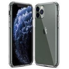 Роскошный Силиконовый противоударный чехол для iphone XR X XS Max 6 6S 7 8 Plus прозрачный мягкий модный iphone 11 PRO MAX чехол для телефона