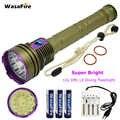 Lampe de poche de plongée professionnelle 12x L2 30000LM étanche 18650 torche de plongée sous marine 100M lampe de chasse pour plongeur