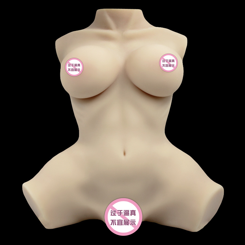 lifelike half body silicone <font><b>sex</b></font> <font><b>doll</b></font> love vagina anal big boobs butt realistic <font><b>sex</b></font> toys for man Top quality 3D 1: 1 realistic image