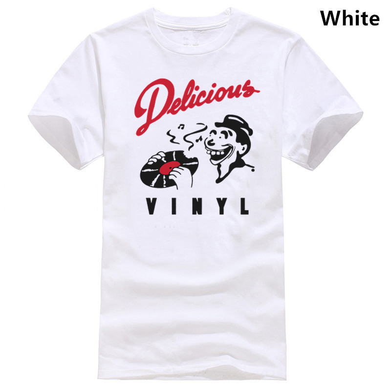 DELICIOUS VINYL T-Shirt HIP HOP RAP MUSIC LABEL MENS Tshirt(China)