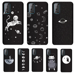 На Алиэкспресс купить чехол для смартфона pensen soft tpu cover for huawei honor play 4t pro case matte painting phone cases cat coque