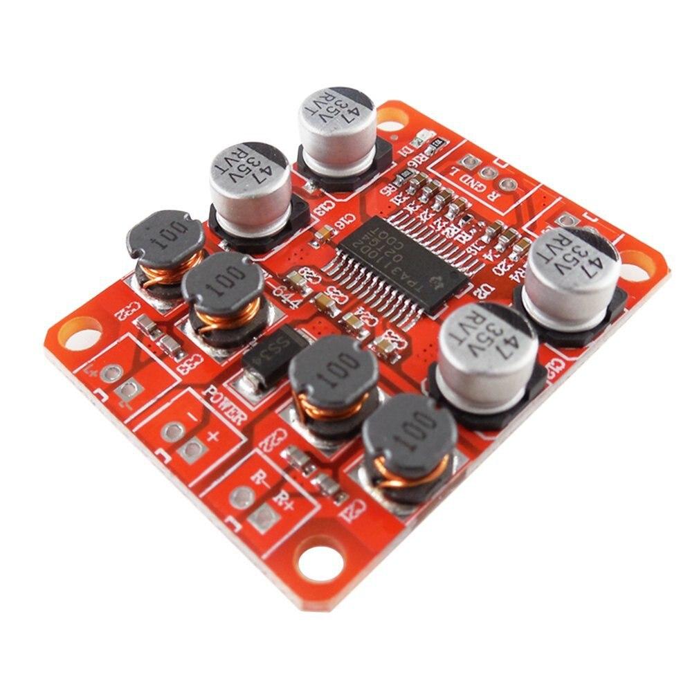HW-644 TPA3110 Chip Digital Power Amplifier Module 2x15W Dual Channel Stereo Sound DIY Speaker Amplifier Board