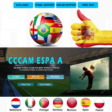5pcs/lot 8 Lines Cccam Espa A For 1 Year match TV Europe Receptor Server HD Germany España Portugal For Satellite TV Receiver advu 50 20 a p a 156638 germany festo cylinders
