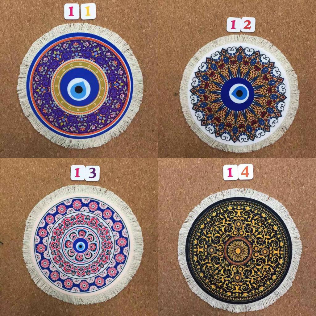 Mrgbest Promotional Round Persian Rug Mouse Pad 220x220mm Table Pad Retro Good Quality Rubber Desk Mice Mat For Home Or Office Mouse Pads Aliexpress