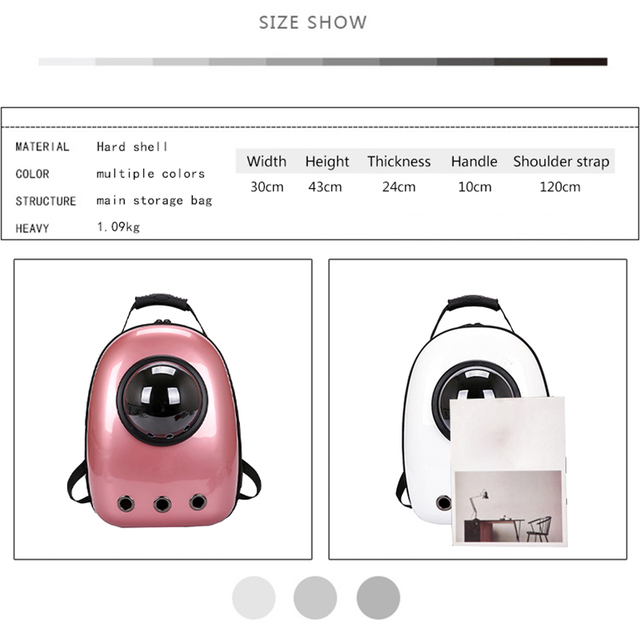 Cat Carrier Backpack Outdoor  5