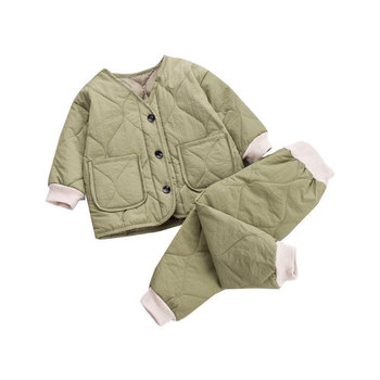 bibicola 2018 autumn winter newborn baby boy girls warm thicken clothing sets infant suit baby boys clothes set toddler outfits Toddler Baby Clothes Autumn Winter Warm Casual babys Sets 2pcs Long Sleeve suits thick kids outfits Infant Boys Girls clothing