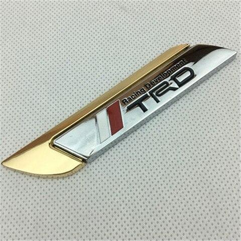 do carro de metal adesivo logos