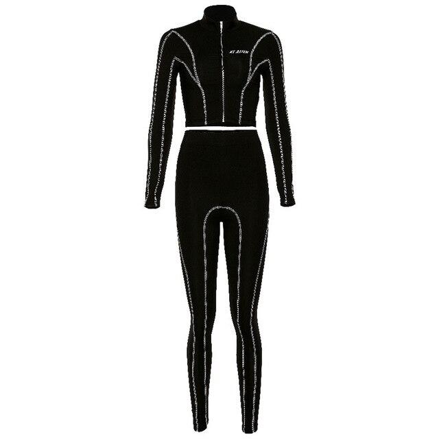 бесшовные женские комплекты для йоги спортивные костюмы спортзала фотография