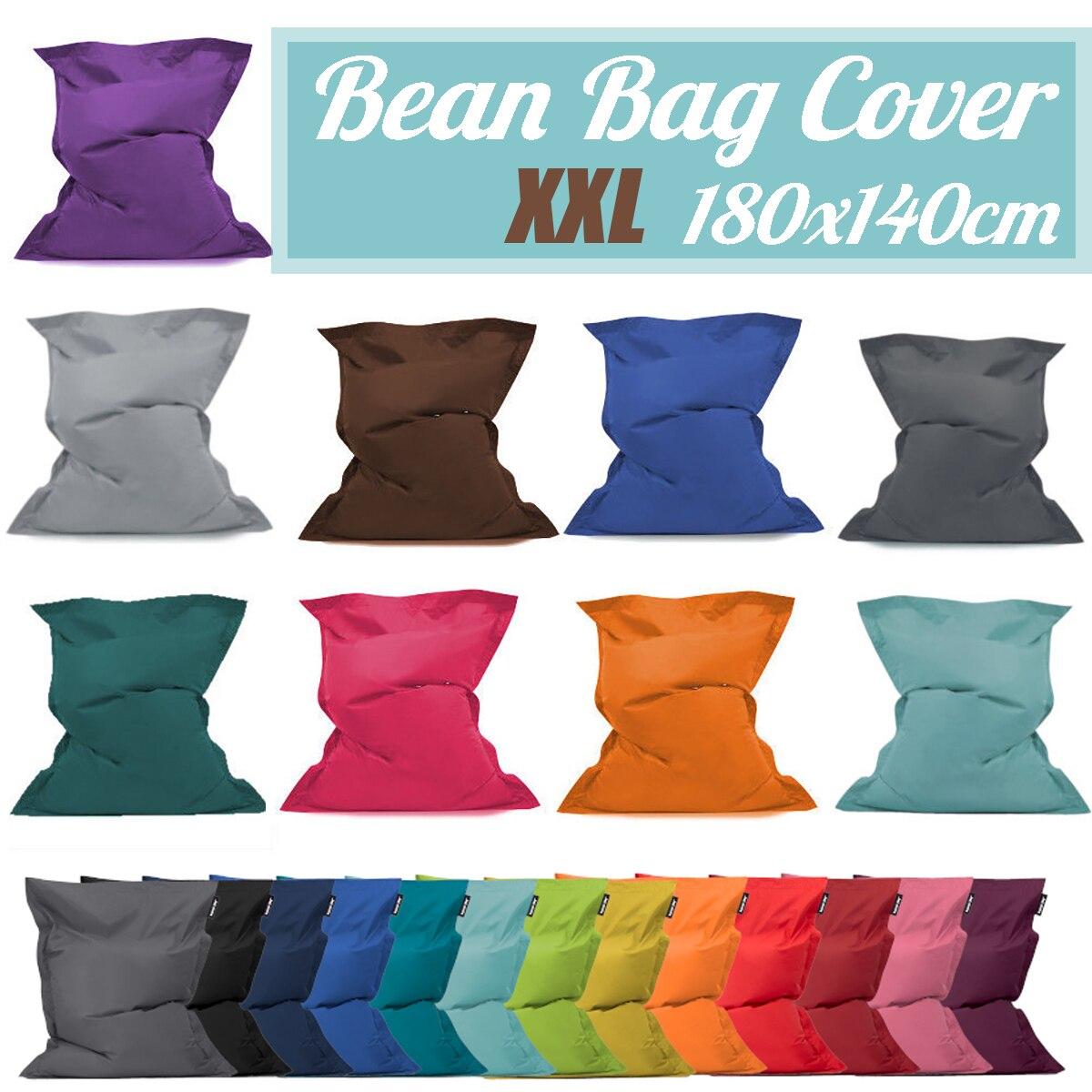 Pouf canapé chaise sac siège cas Zac confort pouf housse de lit sans remplissage imperméable intérieur pouf chaise longue